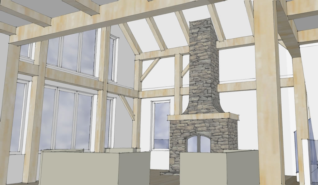 RiverSong Design • Current Projects • Timberframe, sustainable homes ...